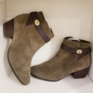 Coach Patricia Suede Fashion Ankle Boots